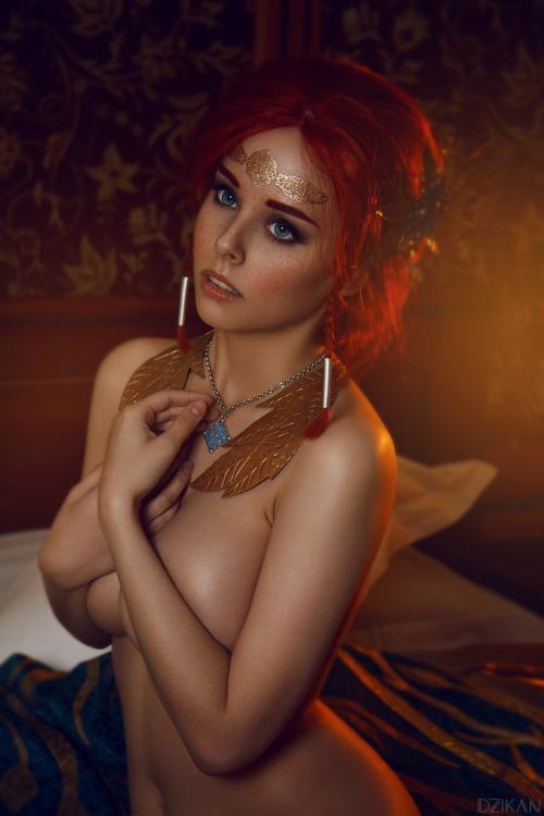 The_witcher_3___triss_merigold_cosplay_by_disharmonica-dar4zwu